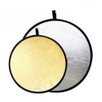 Отражатель Jinbei DF-110 2в1 silver/gold (110см)