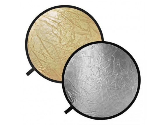 Отражатель Jinbei DF-080 2в1 silver/gold (80см)