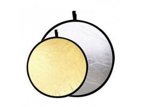 Отражатель Jinbei DF-056 2в1 silver/gold (56см)