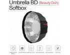 Софтбокс Jinbei 105 см umbrella beauty dish