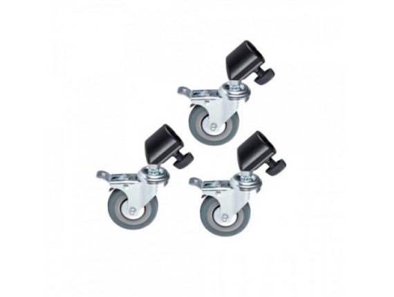 Колеса для стоек Jinbei M11-036 22 Caster KIT
