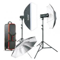 Набор студийного света Godox SK400II-E