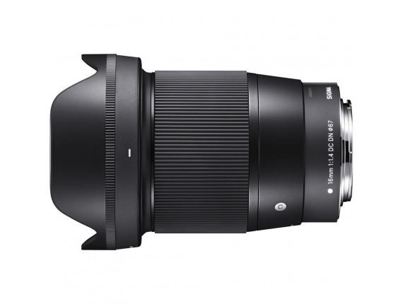 Объектив Sigma 16mm f/1.4 DC DN (Canon EF-M)