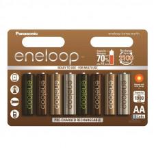 Аккумулятор Panasonic Eneloop АA 1900mAh Tones Earth BK-3MCCE/8UE (8шт.)