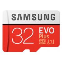 Карта памяти Samsung 32GB microSDHC C10 UHS-I R95/W20MB/s Evo Plus + SD адаптер (MB-MC32GA/RU)