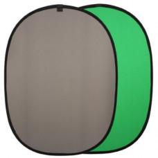 Фон в пружинной рамке Falcon R-1482 (BCP-10-03) Chroma Key green/grey