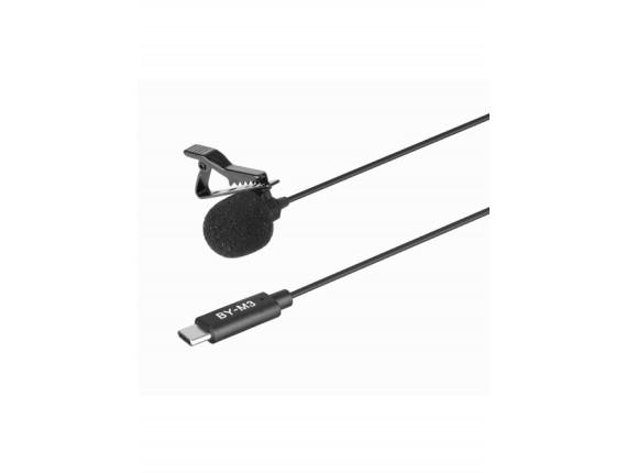 Петличный микрофон Boya BY-M3 Type-C