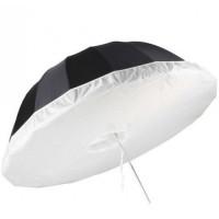 Параболический зонт софтбокс Jinbei 130см black/silver