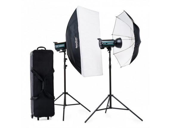 Набор студийного света Godox QS600II-E