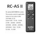 Пульт Godox RC-A5II (для SL-60 - 200, VL, FL, UL, LED)