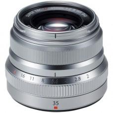 Объектив FUJIFILM XF 35mm F2.0 Silver