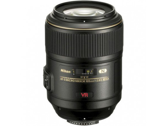 Объектив Nikon AF-S Nikkor 105mm f/2.8G IF-ED VR Micro