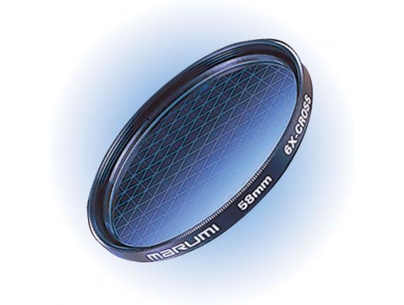 Светофильтр Marumi 6X-Cross 58mm