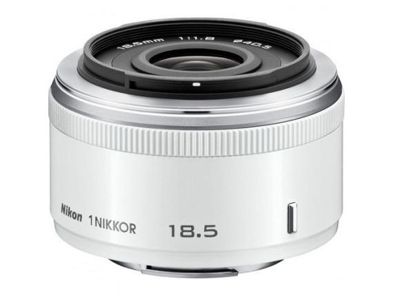 Объектив Nikon 1 Nikkor 18.5mm f/1.8 White