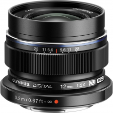 Объектив OLYMPUS M.ZUIKO DIGITAL ED 12mm f/2.0 Black