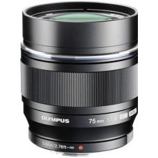 Объектив OLYMPUS M.ZUIKO DIGITAL ED 75mm f/1.8 Black
