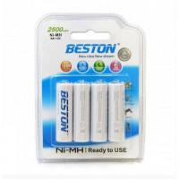 Аккумулятор Beston AA 2500mAh Ni-MH 4шт READY-TO-USE (AAB1827)