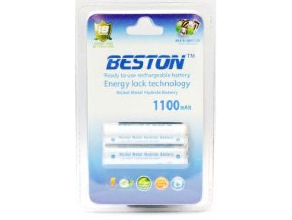 Аккумулятор Beston AAA 1100 mAh READY TO USE (2 шт) (AAB1814)