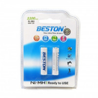 Аккумулятор Beston AAA 1100mAh Ni-MH x 2шт (AAB1828)