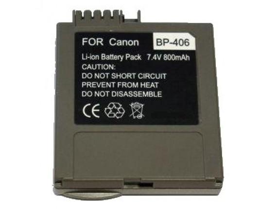 Аккумулятор Canon BP-406 - ExtraDigital (DV00DV1007)