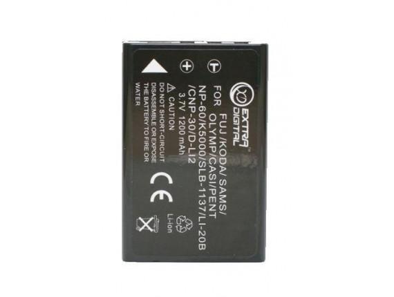 Аккумулятор Casio NP-30, Kodak KLIC-5000, Olympus LI-20B - ExtraDigital (DV00DV1043)