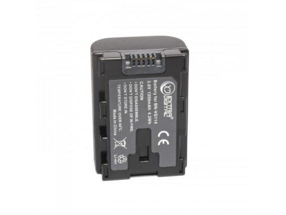 Аккумулятор JVC BN-VG114 chip - ExtraDigital (BDJ1310)