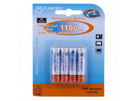 Аккумулятор FujiCell AAA Ni-Mh 1100 mAh, х 4шт