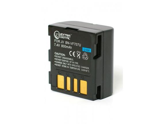 Аккумулятор JVC BN-VF707U - ExtraDigital (BDJ2486)