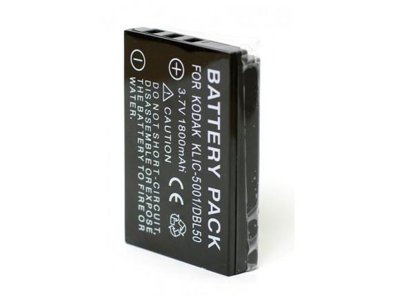Аккумулятор Kodak KLIC-5001, Sanyo DB-L50 - ExtraDigital (DV00DV1151)