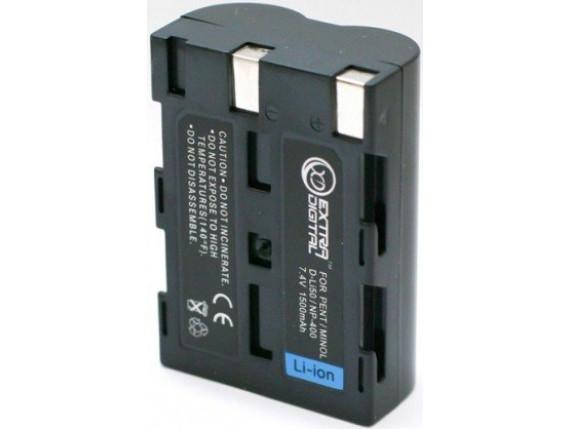Аккумулятор Minolta NP-400, Pentax D-Li50, Samsung SLB-1674 - ExtraDigital (DV00DV1052)