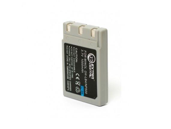 Аккумулятор Minolta NP-500 / 600, DR-LB4 - ExtraDigital (DV00DV1054)