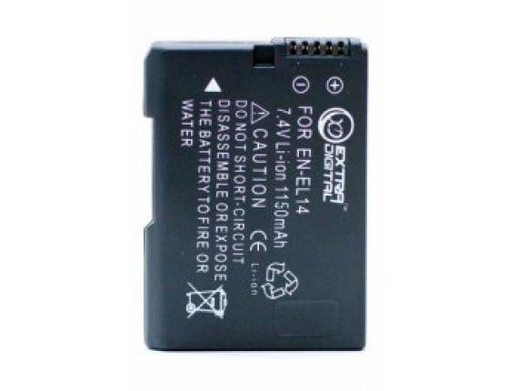 Аккумулятор Nikon EN-EL14 Chip - ExtraDigital (BDN2522)