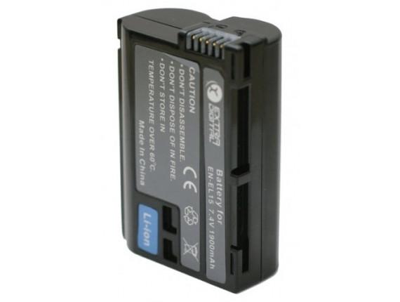 Аккумулятор Nikon EN-EL15 Chip - ExtraDigital (BDN2523)