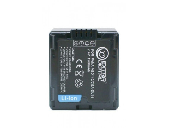 Аккумулятор Panasonic CGA-DU14 - ExtraDigital (BDP2550)