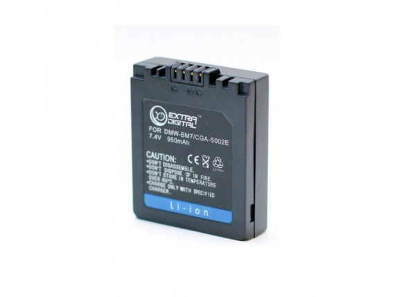 Аккумулятор Panasonic CGA-S002, DMW-BM7 - ExtraDigital (BDP2551)