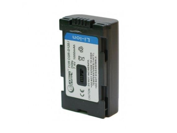 Аккумулятор Panasonic D120, D08S - ExtraDigital (BDP2555)