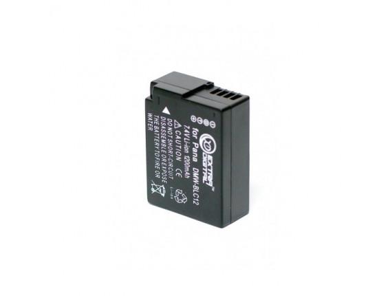 Аккумулятор Panasonic DMW-BLC12 - ExtraDigital (BDP2567)