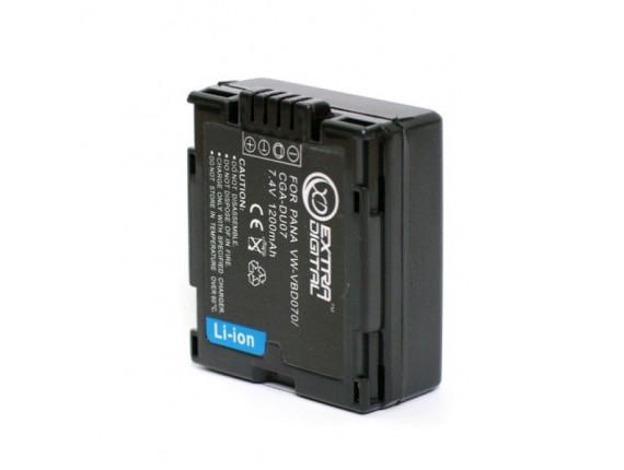 Аккумулятор Panasonic VW-VBD070, CGA-DU07 - ExtraDigital (BDP2581)