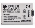 Аккумулятор Canon BP-110 Chip - PowerPlant (DV00DV1384)