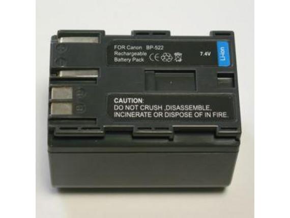 Аккумулятор Canon BP-522 - PowerPlant (DV00DV1012)