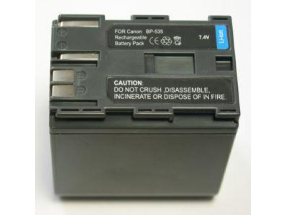Аккумулятор Canon BP-535 - PowerPlant (DV00DV1013)