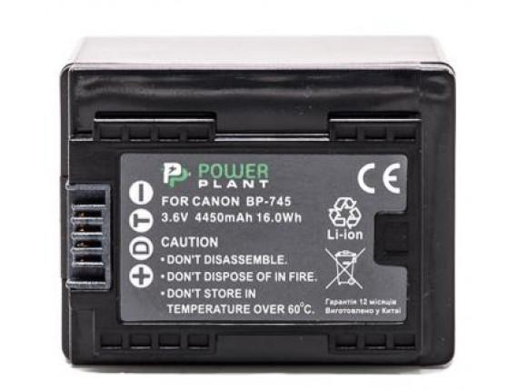 Аккумулятор Canon BP-745 Chip - PowerPlant (DV00DV1383)