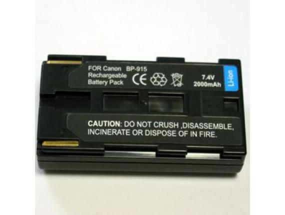 Аккумулятор Canon BP-915 - PowerPlant (DV00DV1016)
