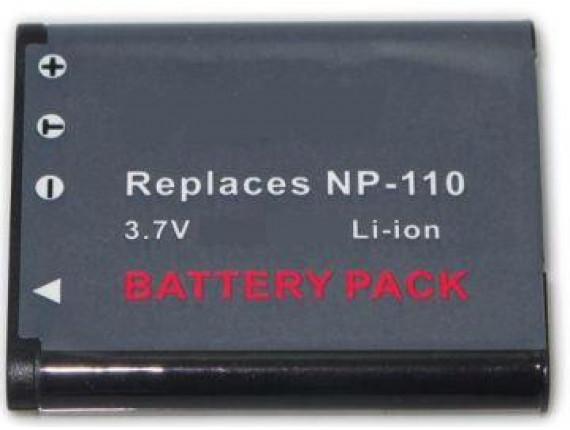 Аккумулятор Casio NP-110 - PowerPlant (DV00DV1257)