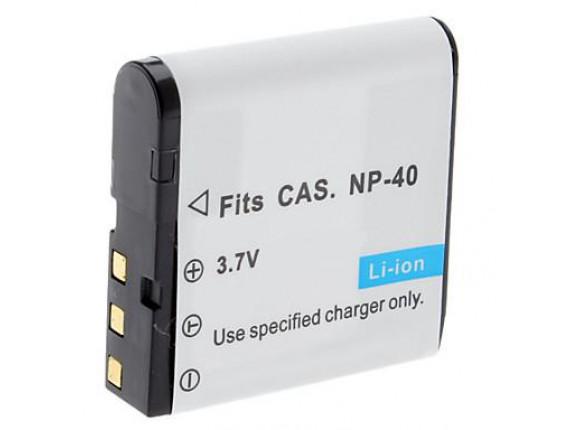 Аккумулятор Casio NP-40 - PowerPlant (DV00DV1044)