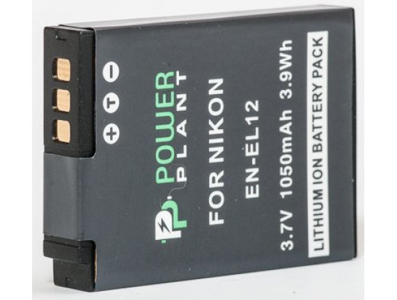 Аккумулятор Nikon EN-EL12 - PowerPlant (DV00DV1242)