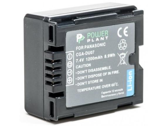 Аккумулятор Panasonic VW-VBD070, CGA-DU07 - PowerPlant (DV00DV1339)