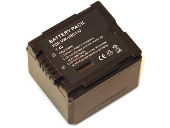 Аккумулятор Panasonic VW-VBG130 Chip - PowerPlant (DV00DV1275)