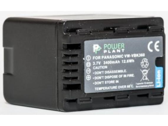Аккумулятор Panasonic VW-VBK360 - PowerPlant (DV00DV1293)