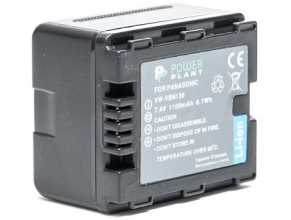 Аккумулятор Panasonic VW-VBN130 - PowerPlant (DV00DV1295)